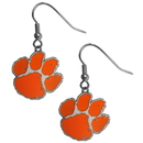 Siskiyou Buckle CDE69 Clemson Tigers Dangle Earrings