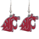 Siskiyou Buckle CDE71 Washington St. Cougars Dangle Earrings