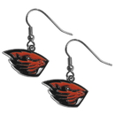 Siskiyou Buckle CDE72N Oregon St. Beavers Chrome Dangle Earrings
