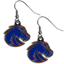 Siskiyou Buckle CDE73N Boise St. Broncos Chrome Dangle Earrings