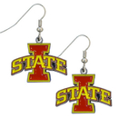 Siskiyou Buckle CDE83 Iowa St. Cyclones Dangle Earrings