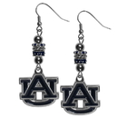 Siskiyou Buckle Auburn Tigers Euro Bead Earrings, CEBE42