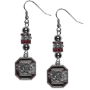 Siskiyou Buckle S. Carolina Gamecocks Euro Bead Earrings, CEBE63