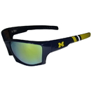 Siskiyou Buckle Michigan Wolverines Edge Wrap Sunglasses, CESG36-Y1