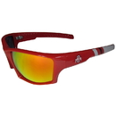Siskiyou Buckle Ohio St. Buckeyes Edge Wrap Sunglasses, CESG38-R1