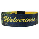 Siskiyou Buckle CEWB36 Michigan Wolverines Stretch Bracelets