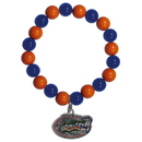 Siskiyou Buckle CFBB4 Florida Gators Fan Bead Bracelet