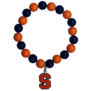 Siskiyou Buckle Syracuse Orange Fan Bead Bracelet, CFBB62