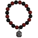 Siskiyou Buckle S. Carolina Gamecocks Fan Bead Bracelet, CFBB63