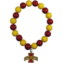 Siskiyou Buckle CFBB83 Iowa St. Cyclones Fan Bead Bracelet