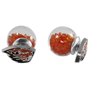 Siskiyou Buckle Oregon St. Beavers Front/Back Earrings, CFBE72