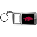 Siskiyou Buckle CFBK12 Arkansas Razorbacks Flashlight Key Chain with Bottle Opener