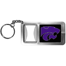 Siskiyou Buckle CFBK15 Kansas St. Wildcats Flashlight Key Chain with Bottle Opener