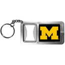 Siskiyou Buckle CFBK36 Michigan Wolverines Flashlight Key Chain with Bottle Opener