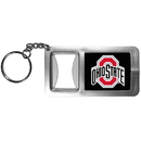 Siskiyou Buckle CFBK38 Ohio St. Buckeyes Flashlight Key Chain with Bottle Opener