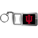 Siskiyou Buckle CFBK39 Indiana Hoosiers Flashlight Key Chain with Bottle Opener