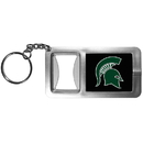 Siskiyou Buckle CFBK41 Michigan St. Spartans Flashlight Key Chain with Bottle Opener