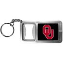 Siskiyou Buckle CFBK48 Oklahoma Sooners Flashlight Key Chain with Bottle Opener