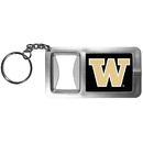 Siskiyou Buckle CFBK49 Washington Huskies Flashlight Key Chain with Bottle Opener