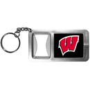Siskiyou Buckle CFBK51 Wisconsin Badgers Flashlight Key Chain with Bottle Opener