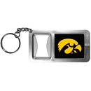Siskiyou Buckle CFBK52 Iowa Hawkeyes Flashlight Key Chain with Bottle Opener