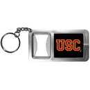 Siskiyou Buckle CFBK53 USC Trojans Flashlight Key Chain with Bottle Opener