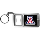 Siskiyou Buckle CFBK54 Arizona Wildcats Flashlight Key Chain with Bottle Opener