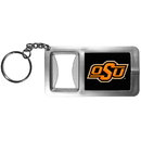 Siskiyou Buckle CFBK58 Oklahoma St. Cowboys Flashlight Key Chain with Bottle Opener