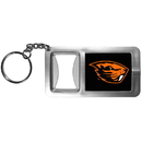 Siskiyou Buckle Oregon St. Beavers Flashlight Key Chain with Bottle Opener, CFBK72