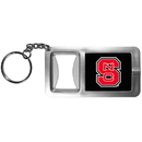Siskiyou Buckle CFBK79 N. Carolina St. Wolfpack Flashlight Key Chain with Bottle Opener