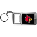 Siskiyou Buckle CFBK88 Louisville Cardinals Flashlight Key Chain with Bottle Opener