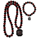 Siskiyou Buckle S. Carolina Gamecocks Fan Bead Necklace and Bracelet Set, CFBN63FBB