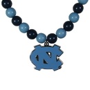 Siskiyou Buckle N. Carolina Tar Heels Fan Bead Necklace, CFBN9