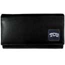 Siskiyou Buckle CFW112 TCU Horned Frogs Leather Women's Wallet