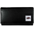 Siskiyou Buckle CFW12 Arkansas Razorbacks Leather Women's Wallet