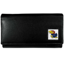 Siskiyou Buckle CFW21 Kansas Jayhawks Leather Women's Wallet