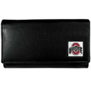 Siskiyou Buckle CFW38 Ohio St. Buckeyes Leather Women's Wallet