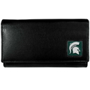 Siskiyou Buckle CFW41 Michigan St. Spartans Leather Women's Wallet