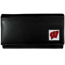 Siskiyou Buckle CFW51 Wisconsin Badgers Leather Women's Wallet