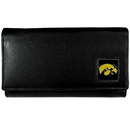 Siskiyou Buckle CFW52 Iowa Hawkeyes Leather Women's Wallet
