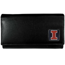 Siskiyou Buckle CFW55 Illinois Fighting Illini Leather Women's Wallet