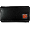 Siskiyou Buckle CFW69 Clemson Tigers Leather Women's Wallet