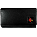 Siskiyou Buckle CFW88 Louisville Cardinals Leather Women's Wallet