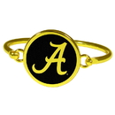Siskiyou Buckle Alabama Crimson Tide Gold Tone Bangle Bracelet, CGBB13