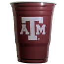 Siskiyou Buckle CGDC26 Texas A & M Aggies Plastic Game Day Cups