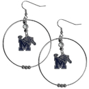 Siskiyou Buckle Memphis Tigers 2 Inch Hoop Earrings, CHE103