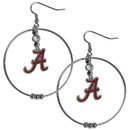 Siskiyou Buckle CHE13 Alabama Crimson Tide 2 Inch Hoop Earrings
