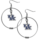Siskiyou Buckle CHE35 Kentucky Wildcats 2 Inch Hoop Earrings