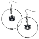 Siskiyou Buckle CHE42 Auburn Tigers 2 Inch Hoop Earrings