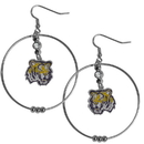 Siskiyou Buckle CHE43 LSU Tigers 2 Inch Hoop Earrings
